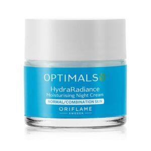 کرم شب آبرسان و روشن کننده پوست نرمال اپتیمالز Optimals