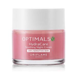 کرم شب آبرسان و روشن کننده پوست خشک اپتیمالز Optimals