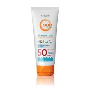 لوسیون صورت و بدن ضد آفتاب سان زون کودکان Sun Zon Kids SPF 50
