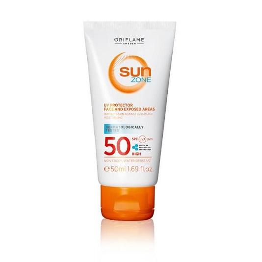 کرم ضد آفتاب قوی سان زون Sun zone SPF50