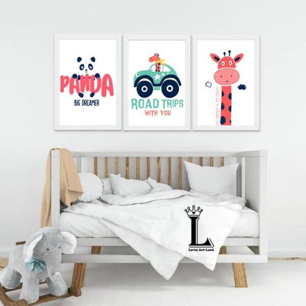 تابلو اتاق کودک